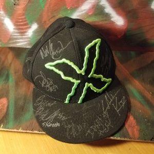 Autographed X Hat no idea who
